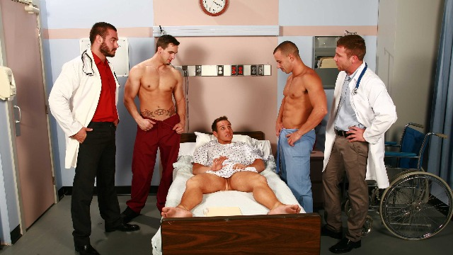 Men - Horny Muscle Patient Chris Tyler , Jessy Ares , Phenix Saint And Other