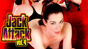 Best Pornstars Christie Stevens, Courtney Taylor And Other In Jack Attack 4