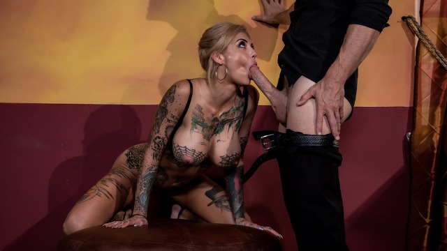 Bonnie Rotten Wants To Play Another Game In Rack 'Em Up!