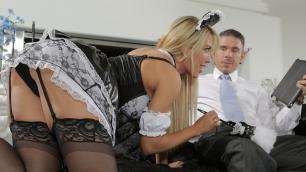 Wicked - Roomies, Scene 3 Capri Cavanni Reverse Cowgirl