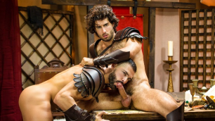 Men - Sacred Band Of Thebes Part 3 D.O. And Diego Sans Inside Each Others Hole