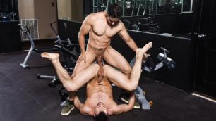 Men - Rafael Alencar Followed By Muscle-Bound Stud Colby Tucker