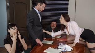 Brazzers - Porn Star Chanel Preston Demonstrates Fucking Skills In Vote of Cum-fidence