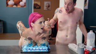 Brazzers - Sexy Teacher Anna Bell Peaks Let's Bake A Titty Cake
