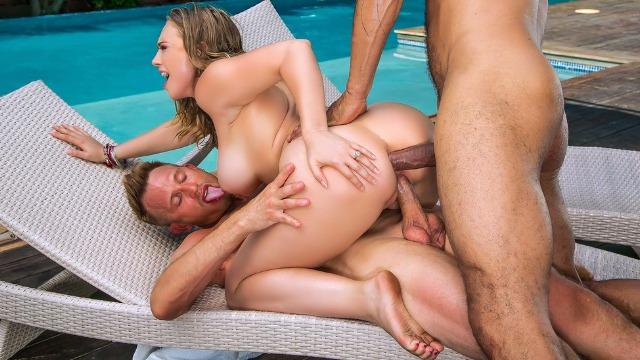Double Penetration On Honeymoon Kagney Linn Karter
