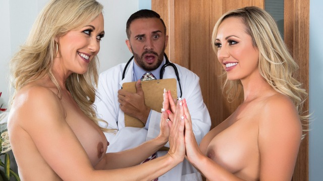Similar As Two Drops Of Water! Brandi Love And Brett Rossi In The Second Cumming Part 2