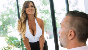 The Boss's  Wife  Aubrey Black Taking Wifey To Work And My Big Dick