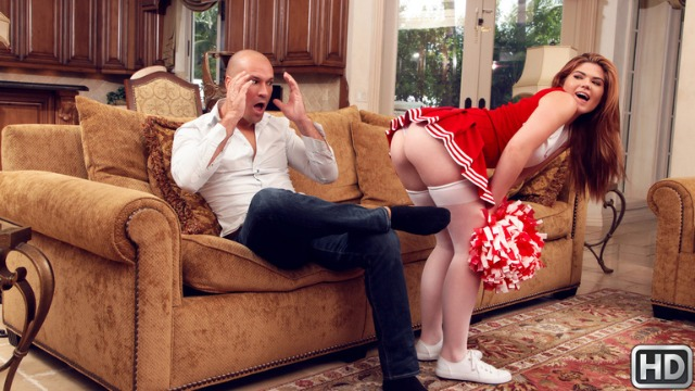 Reality Kings - My Sexy Stepdaughter Hunter Rose The Cheerleader