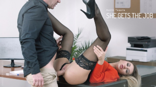 Babes - Katrin Tequila Gets The Job Through Unforgettable Sex In The Office