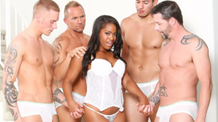 Devils Film - Monique Symone Prefer White Guys In White Out