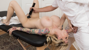 Complimentary Massage With Sex Toy For Danielle Derek From Room Service Man