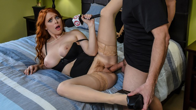 Penny Pax Catches The Burglar Red-Handed In Ramming The Reporter