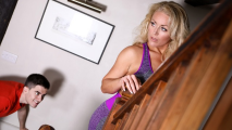 Brazzers - Stepson Peeping For MILF Rebecca Jane Smyth