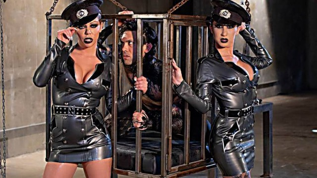 Wicked - Dangerous Cops Angela White, Karma RX, Lily Lane In The Carnal, Scene 2