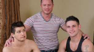 Men - Lessons From My Step Dad How To Fuck Charlie Harding , Duncan Black , Johnny Rapid