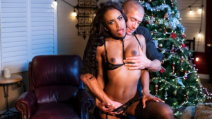 Babes - Ebony Demi Sutra In Home For Christmas Part 1