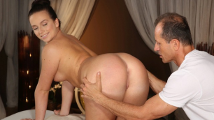 Massagerooms - DILF Seduces Brunette Teen Vixen Nata Lee With Big Tits
