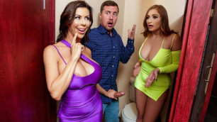 Reality Kings - Club Cougars Alexis Fawx And Skylar Snow Join The Party