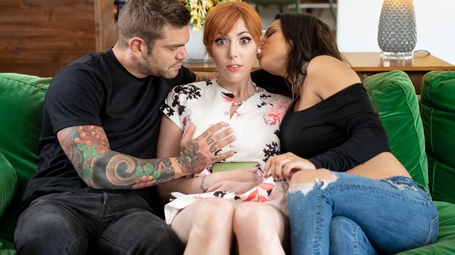 Babes - Stepmom Lauren Phillips Gives a Lesson For Autumn Falls