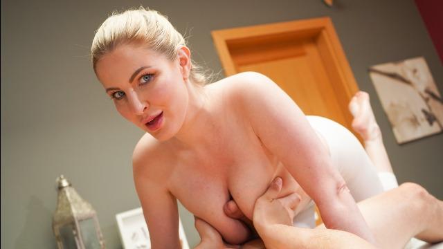 MassageRoom - Big Tits British Blonde Georgie Lyall Creampie