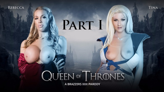 Winter Is Coming! Queen Of Thrones Part 1 With Rebecca Moore And  Tina Kay A XXX Parody