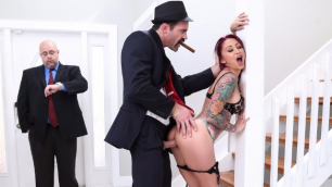 Sultry Monique Alexander In The Don Whacks My Wife's Ass