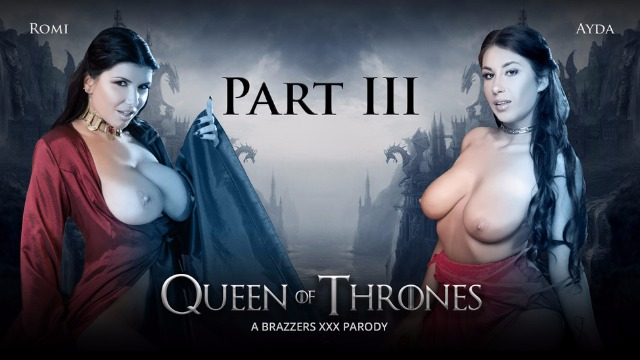 Threesome In  Brothel With Ayda Swinger And Romi Rain. Queen Of Thrones Part 3 (A XXX Parody)