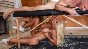 Hot Masseuse Nicolette Shea And Her Massage Mirage