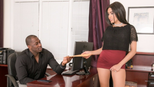 Devils Film - Personal Secretary Aaliyah Hadid Fulfills All Desires In Front Street Cheaters