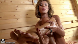 21Sextury - Adventure On The Sauna Ended For Ioana Erotic