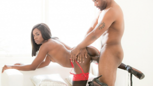Devils Film - Dark Sexy Diva Ana Foxxx WIth Big Black Friend