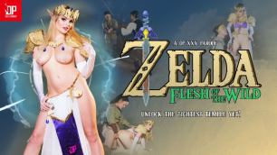 Perfect Princess Katy Jayne Needs To Be Rescued In Zelda Flesh of the Wild: A DP XXX Parody