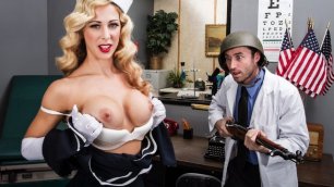 Brazzers - America's Secret Sweetheart  With The Nurse Cherie Deville