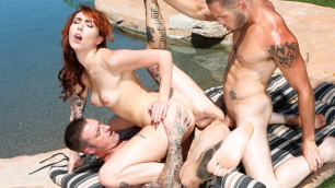 Emily Blacc Isn't The Only One That Likes To Check Out A Hard Dick In We Swing Both Ways 2