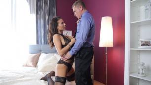 Danejones - Sex Trip With Brunettes In Stockings Vanessa Decker