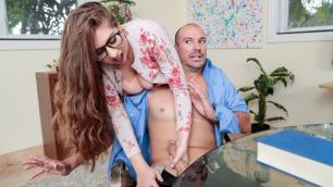 Digital Playground - Busty Kinky Nerd Alex Chance Wants It Rough