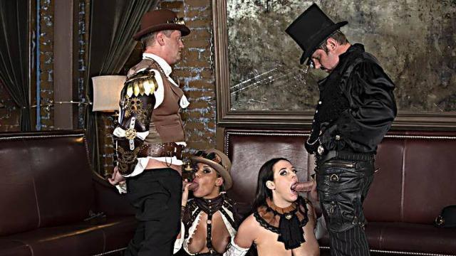 Wicked - Carnal, Scene 3 Cowboy Girls Angela White, Jessica Drake, Mercedes Carrera