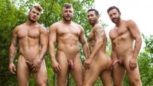 Men - Exposure Part 3 Hunks Hit Alexy Tyler , Jessy Bernardo , Mateo Sanchez , William Seed