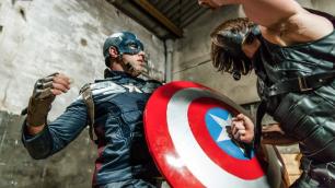 Men - Captain America : A Gay XXX Parody Part 3 Short Battle Alex Mecum And Paddy O'Brian