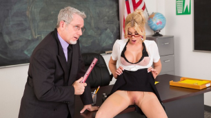 Wicked - Axel Braun's School of Fuck, Scene 1 Riley Steele Ass Licking