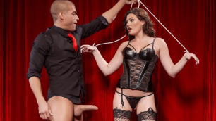 Brazzers - Sexy Porn Puppet Jessica Rex On A String