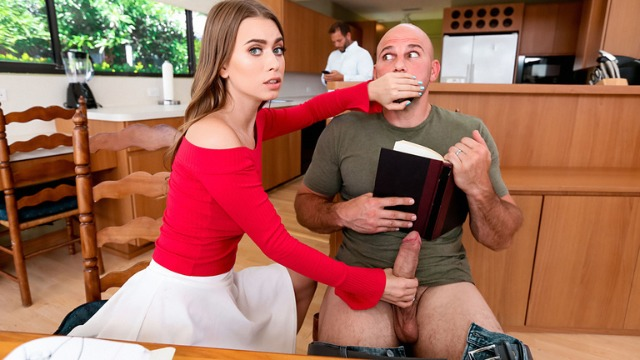 Reality Kings - Jill Kassidy Sucks Under The Table 2