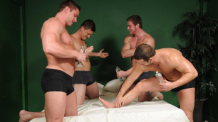 Men - Bubble Butts Part 3 Connor Maguire, Jake Wilder, John Magnum, Luke Adams And Sebastian Young