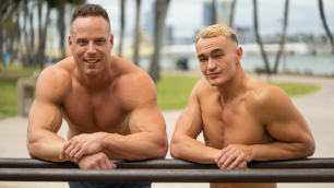 SeanCody - Jayce And Jack Get So Horny Playing Around On The Workout Structures