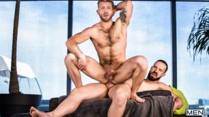 Gabriel Phoenix Gives Andy Onassis A life Changing Blowjob