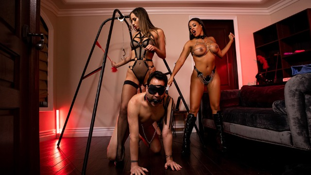 The Dommes Next Door: Double Dommed With Desiree Dulce And Luna Star