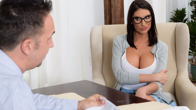 Brazzers - Sexy August Ames Are Getting Off The Waitlist
