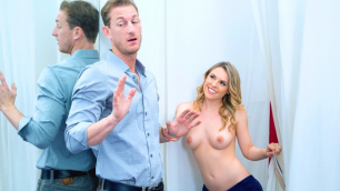 DigitalPLayground - Aubrey Sinclair In Dressing Room Zip Me Up