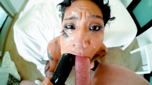 Evil Angel - Honey Gold Loves Hardcore Throat Fuck Rim Job