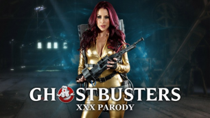 Brazzers - Monique Alexander Is Haunted By A Big-Dicked Apparition In Ghostbusters XXX Parody Part 1